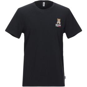 《期間限定セール開催中!》MOSCHINO メンズ アンダーTシャツ ブラック XS コットン 95% / ポリウレタン 5%