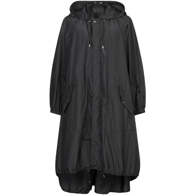 《セール開催中》VERSACE メンズ ライトコート ブラック 44 ポリエステル 100%