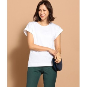 ICB(大きいサイズ) Cotton Jersey カットソー レディース ホワイト系 XL 【ICB(LARGE SIZE)】