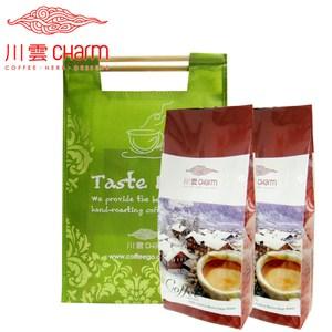 川雲 哥倫比亞 翡翠山(1磅)&肯亞 頂級AA(1磅) 提袋組咖啡豆