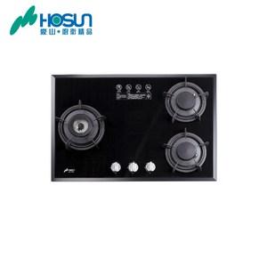 【豪山HOSUN】(歐化檯面玻璃爐)SB-3109-黑玻璃天然瓦斯