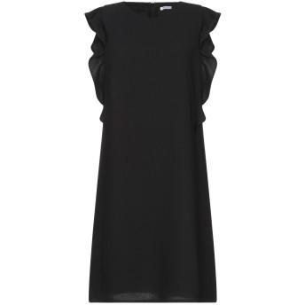 《セール開催中》I BLUES レディース ミニワンピース&ドレス ブラック 38 ポリエステル 100%