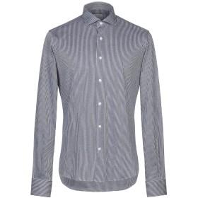 《期間限定 セール開催中》ORIAN メンズ シャツ ダークブルー 38 コットン 100%