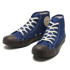 【ABC-MART:シューズ】35500060 BIG C ARMYSHOES SUEDEPATCH MID NAVY/BROWN 596592-0001
