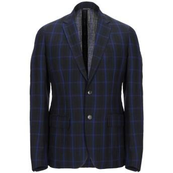 《セール開催中》BRIAN DALES メンズ テーラードジャケット ブラック 48 ウール 52% / 麻 48%