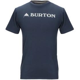 《期間限定セール開催中!》BURTON メンズ T シャツ ブルーグレー XS コットン 100%