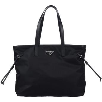 《9/20まで! 限定セール開催中》PRADA レディース ハンドバッグ ブラック 紡績繊維