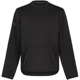 《セール開催中》DYNE メンズ T シャツ ブラック M ポリエステル 100%