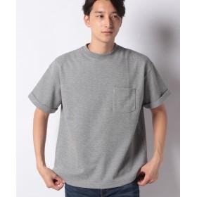 【50%OFF】 コエ ポンチ折り返し袖TEE メンズ 杢グレー M 【koe】 【セール開催中】