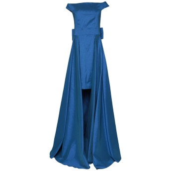 《セール開催中》ALESSANDRO LEGORA レディース ミニワンピース&ドレス ブライトブルー 42 ポリエステル 98% / ポリウレタン 2%