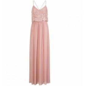 チチ Chi Chi レディース ワンピース ワンピース・ドレス Crochet Overlay Maxi Dress Pink