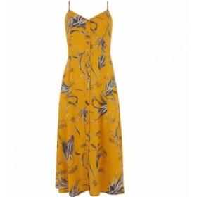ウェアハウス Warehouse レディース ワンピース ワンピース・ドレス Leaf Button Cami Midi Dress Orange