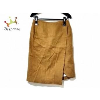 ケイ シラハタ kei shirahata 巻きスカート サイズ0 XS レディース ブラウン   スペシャル特価 20191125