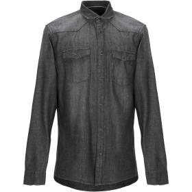 《期間限定セール開催中!》ONLY & SONS メンズ デニムシャツ ブラック S コットン 100%