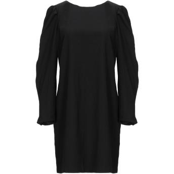 《セール開催中》RELISH レディース ミニワンピース&ドレス ブラック S ポリエステル 100%