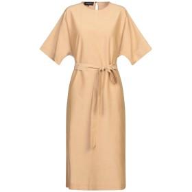 《セール開催中》ROCHAS レディース 7分丈ワンピース・ドレス サンド 40 コットン 58% / シルク 42%