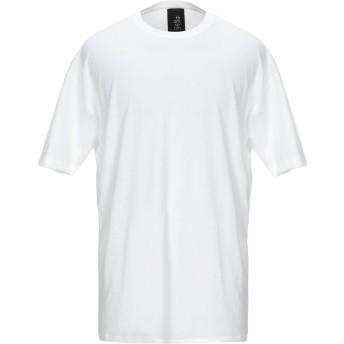《期間限定セール開催中!》THOM KROM メンズ T シャツ ホワイト M コットン 100%