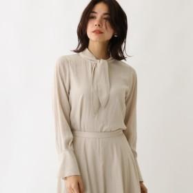 [マルイ] スプリットフローレットボウタイシャツ/アクアガール(aquagirl)