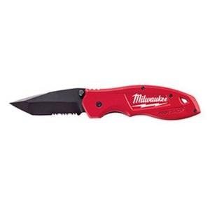 美國品牌 Milwaukee 米沃奇 T頭折刀 48-22-1995 [鋸齒型刀刃 皮帶夾附屬]