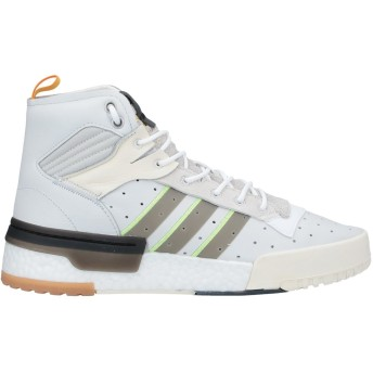 《期間限定 セール開催中》ADIDAS ORIGINALS メンズ スニーカー&テニスシューズ(ハイカット) ライトグレー 7 革 / 紡績繊維