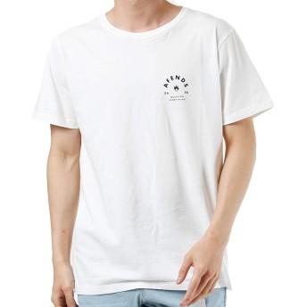AFENDS アフェンズ メンズ 半袖 Tシャツ ROLL JM193021 WHITE L
