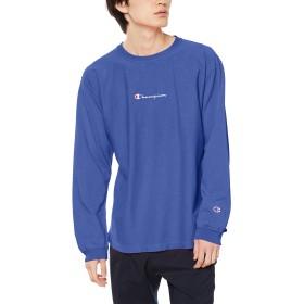 [チャンピオン] リバースウィーブ ロングスリーブTシャツ C3-Q415 メンズ ウィンザーブルー 日本 S (日本サイズS相当)