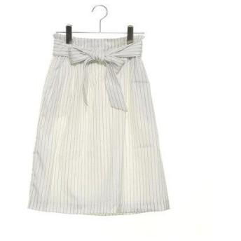 テチチ アウトレット Te chichi outlet リボン付タイトスカート(ルミネ) (オフホワイト)