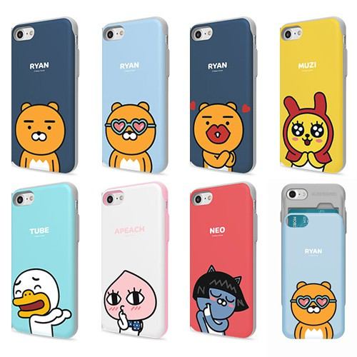 KAKAO FRIENDS 手機殼│推蓋卡夾│Note5 iPhone 6s│z7682