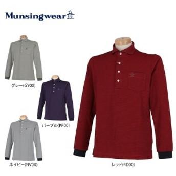 [50%OFF] マンシングウェア メンズ 細ボーダー 長袖 ポロシャツ MGMMJB08 [2018年モデル] [秋冬モデル]