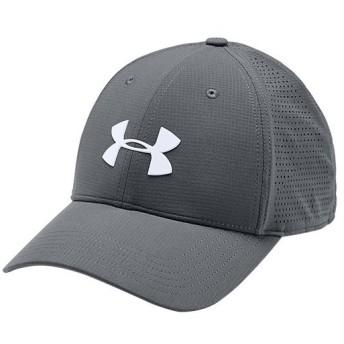 アンダーアーマー(UNDER ARMOUR) メンズ ゴルフウェア ドライバー キャップ 3.0 UA Driver Cap 3.0 グレー 1328670 012 ゴルフ ウェア 帽子 日よけ