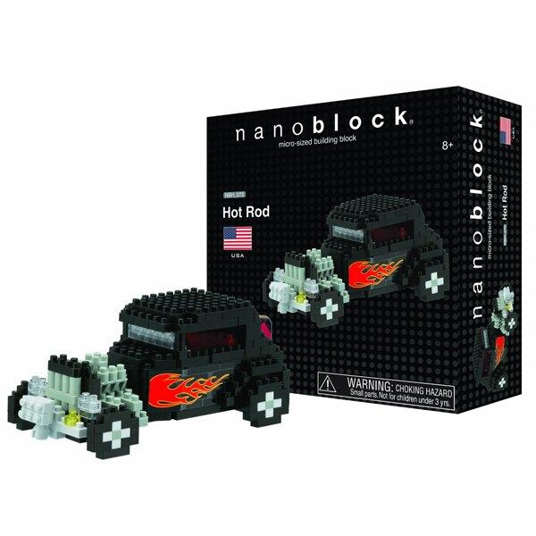 【Nanoblock 迷你積木】美式改裝車NBH-072