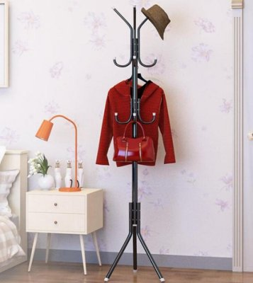 【直接下標8折特惠】衣帽架 家用衣帽架臥室晾衣架衣服架子落地掛衣架簡易組裝創意單桿式包架