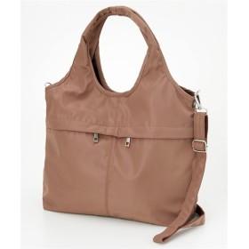 10ポケット2WAYバルーントートバッグ(A4対応) トートバッグ・手提げバッグ