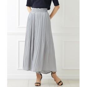 ビンテージサテンで大人っぽく♪スカート見えガウチョパンツ (レディースパンツ)Pants, 子, 子