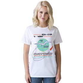 宇宙の最初の女性Tシャツ - 女性宇宙飛行士Tシャツ – First Woman In Space T Shirt・面白い・科学・宇宙・レトロ・デザイン・イングランドで印刷されたtシャツ・おしゃれ・SFシャツ・アメカジ・メンズ ・レディース (M)
