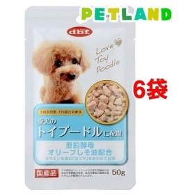 デビフ 愛犬のトイプードルに配慮 ( 50g6袋セット )/ デビフ(d.b.f)