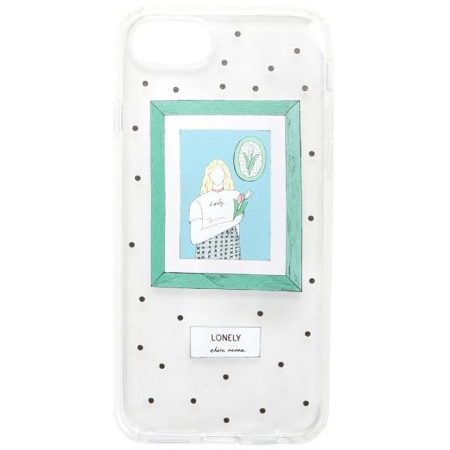 【メリージェニー/merry jenny】 エヒラナナエコラボ iPhoneケース7.8