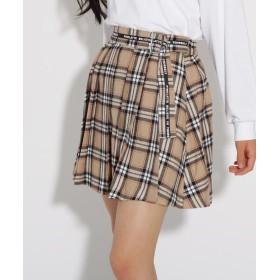 PINK-latte(ピンク ラテ) ★ニコラ掲載★プリーツ スカート