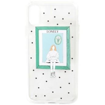 【メリージェニー/merry jenny】 エヒラナナエコラボ iPhoneケースX.Xs