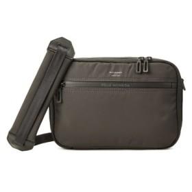 (Bag & Luggage SELECTION/カバンのセレクション)ペッレモルビダ ハイドロフォイル ショルダーバッグ メンズ 防水 PELLE MORBIDA HYD010/ユニセックス チャコールグレー
