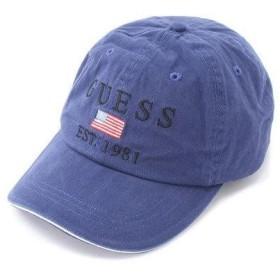 ゲス GUESS 81 ORIGINAL LOGO CAP (MANOR BLUE)
