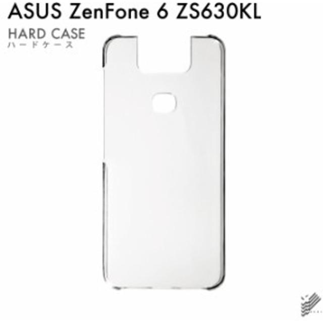 ASUS ZenFone 6 ZS630KL 用 スマホケース 無地ケース (ハードケースクリア)