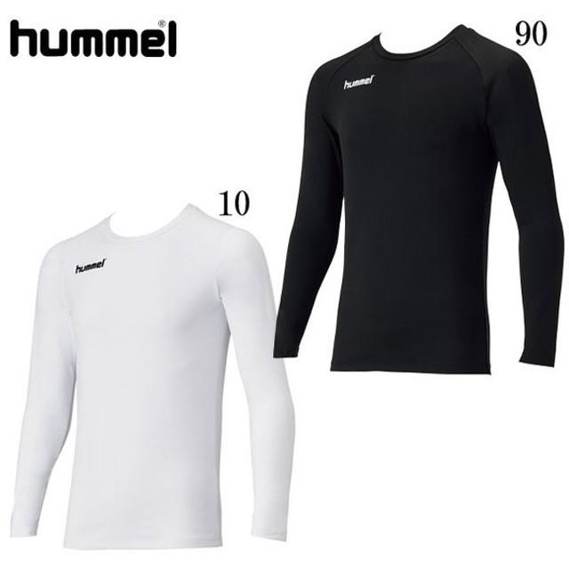 あったか丸首インナーシャツ hummel ヒュンメルアンダー(インナー)シャツ19FW (HAP5148C)