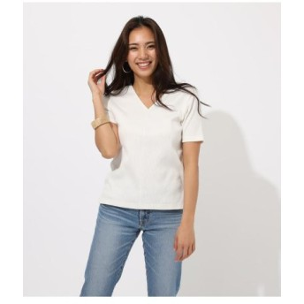 (AZUL BY MOUSSY/アズールバイマウジー)2WAY LACEUP TOPS/レディース O/WHT1