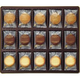 【送料無料】 【672483】〈ゴディバ〉ダーク&ホワイトクッキーアソートメント 【三越・伊勢丹/公式】