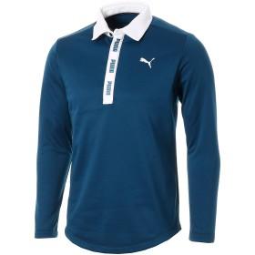 【プーマ公式通販】 プーマ ゴルフ ウォームネック LS ポロシャツ 長袖 メンズ Gibraltar Sea |PUMA.com
