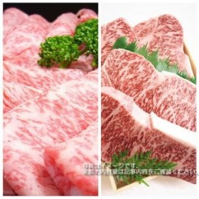 BZ19◇【淡路ビーフ】ロースステーキ&すきやき用セット(合計1kg)
