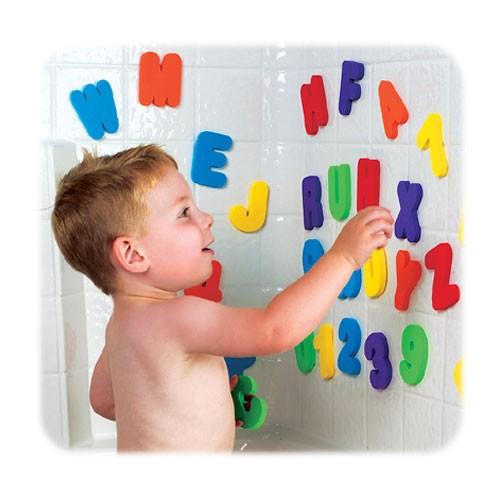 滿趣健 munchkin 字母數字洗澡玩具學習組
