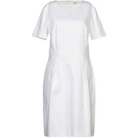 《期間限定セール開催中!》CAPPELLINI by PESERICO レディース ミニワンピース&ドレス ホワイト 42 コットン 97% / ポリウレタン 3%