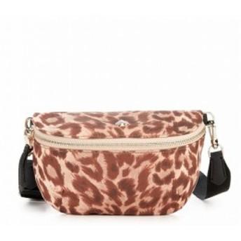 ケイト スペード kate spade new york レディース ボディバッグ・ウエストポーチ バッグ Taylor Leopard Nylon Medium Belt Bag Natural